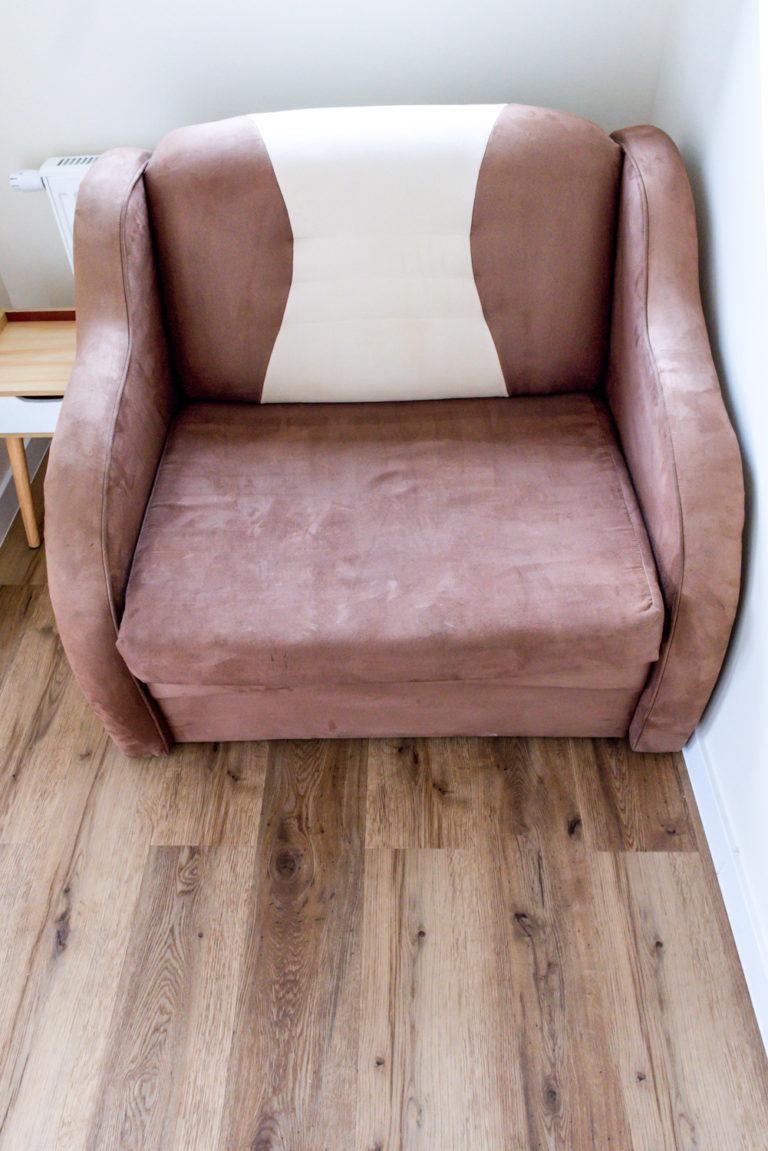 Pasieka Smakulskich - noclegi - zdjęcia wnętrz (Apartament Prowansalski - parter) - zdjęcie wygodnego fotela