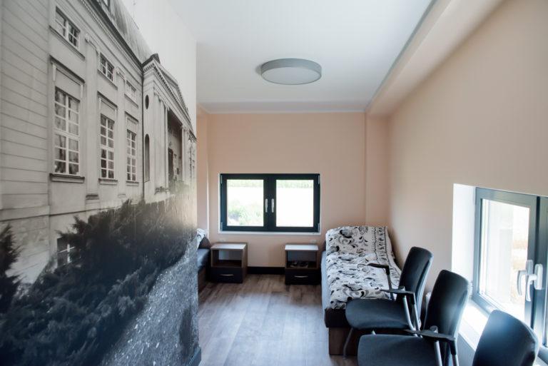 Pasieka Smakulskich - noclegi - zdjęcia wnętrz (pokoje na 1 piętrze) - pokój z dwoma łóżkami