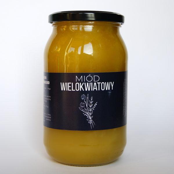 Produkt: miód wielokwiatowy - sklep pasiekasmakulskich.pl