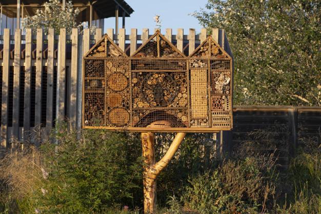 warsztaty pszczelarskie - hotel dla owadów