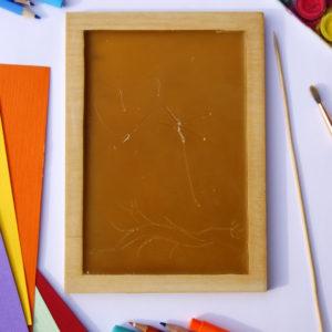 tabliczka woskowa - ekologiczny kreatywny prezent dla dzieci zabawka