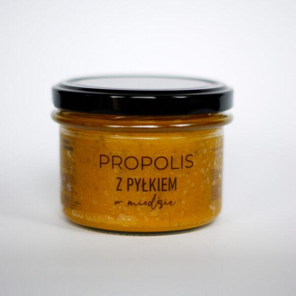 Produkt: propolis z pyłkiem w miodzie mały - sklep pasiekasmakulskich.pl