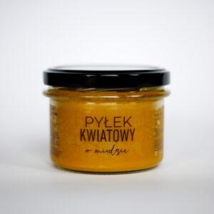 Produkt: pyłek kwiatowy w miodzie mały - sklep pasiekasmakulskich.pl
